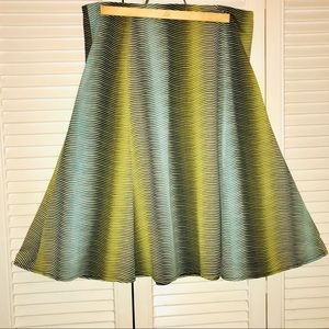 2/20 Great Jones NY Skirt Wavy Multicolor
